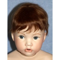 """10""""-11"""" Mohair Cassidy Wig - Brown"""