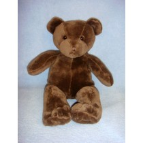 "10"" Plush Sitting Brown Bear"