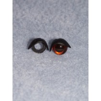 10mm Black Eyelids - Pkg_25 pr