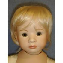 """11-12"""" Bleach Blond Cassie Wig"""