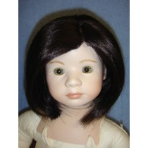 "11-12"" Dark Brown Lenny Wig"
