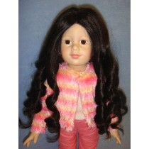 "11-12"" Dark Brown Roxanne Wig"