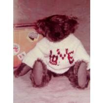 "|11"" Edison Vintage Bear Pattern"