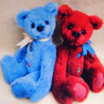 "|12"" Buster Buttons Bear Pattern"