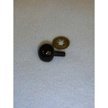 12mm Black Ball Noses - Pkg_50