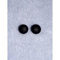 12mm Black Matte Finish Glass Eye Pkg_2