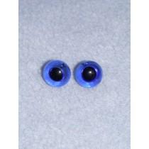 12mm Blue Glass Eye - Pkg_2