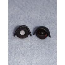 14mm Black Eyelids - Pkg_25 pr