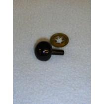 15mm Black Ball Noses - Pkg_50