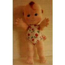 """16"""" Cupie Cloth Doll Pattern"""