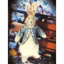 "16"" Velvet Rabbit w_Jacket Pattern"