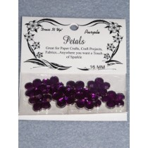 16mm Petals - Purple