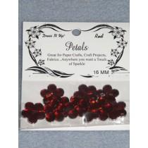 16mm Petals - Red