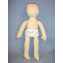 "18"" Bendable Muslin Doll"
