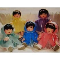 "18"" Dionne Quints Cloth Doll Pattern"