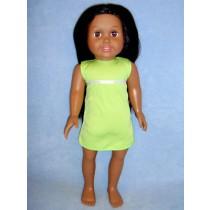 "18"" Tan Springfield Doll w_Black Hair"