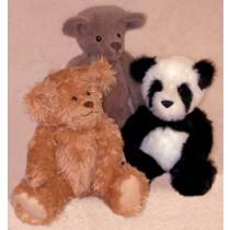 "18"" Trevor and Mandy Bear Pattern"