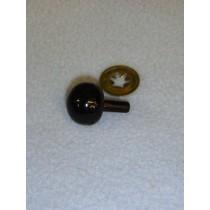 18mm Black Ball Noses - Pkg_50