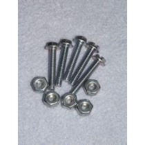 "1"" Locknut & Bolt - Set_5"