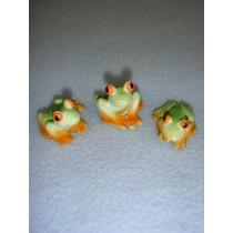 "1"" Miniature Frogs"