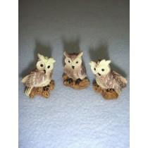 "1"" Miniature Owls"