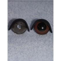 20mm Black Eyelids - Pkg_25 pr