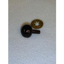 21mm Black Ball Noses - Pkg_50