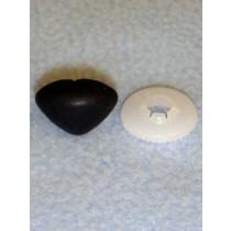 24mm Black Soft Triangle Noses Pkg_50