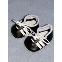 """2 3_4"""" Black Sport Shoe"""