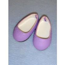 """2 3_4"""" Purple Slip Ons"""