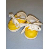 """2 7_8"""" Bright Yellow_Dark Yellow Sporty Shoe"""