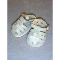 "2 7_8"" Light Blue Fisherman's Sandals"