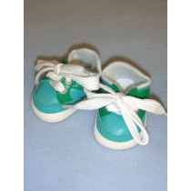 """2 7_8"""" Turquoise_Green Sporty Shoe"""