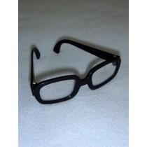 """3 1_4"""" Black Hipster Glasses"""