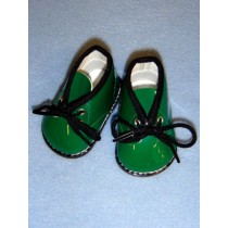 "3"" My Golly Boots - Green Patent"