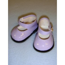 """3"""" Purple Patent Mary Jane Shoes"""