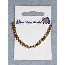4mm Round Gold Spacer Beads - Pkg_24