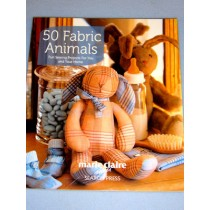50 Fabric Animals Book