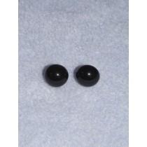 6mm Black Glass Eye - Pkg_20