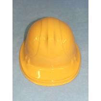 """7 1_4"""" Yellow Plastic Construction Hat"""