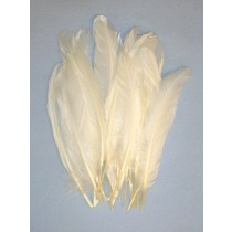 8' White Goose Feathers