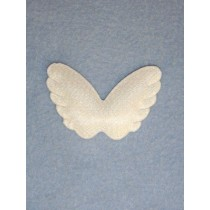 "|Angel Wings-2 1_4"" Opalescent 1 pc Pk_12"