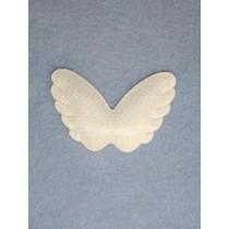 """Angel Wings-2 1_4"""" Opalescent 1 pc Pk_12"""