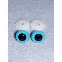 Animal Eye - 10mm Blue  Pkg_100