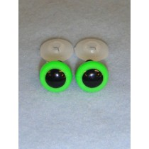 Animal Eye - 10mm Bright Green Pkg_100