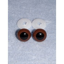Animal Eye - 10mm Brown Pkg_100