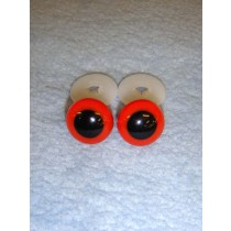 Animal Eye - 12mm Red Pkg_100