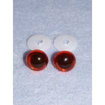 Animal Eye - 13.5mm Amber Pkg_100