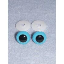Animal Eye - 13.5mm Blue Pkg_100