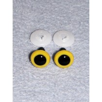 Animal Eye - 13.5mm Yellow Pkg_100